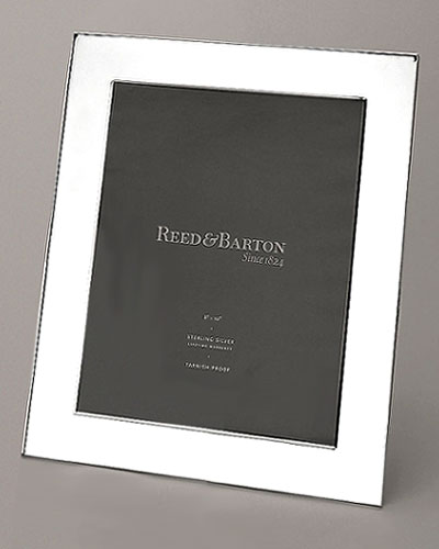 High Quality A Broad Sterling Silver Border Is All The Decoration This Classic Frame  Needs To Make A Dramatic Statement. Make It Truly Yours By Engraving A  Personal ...